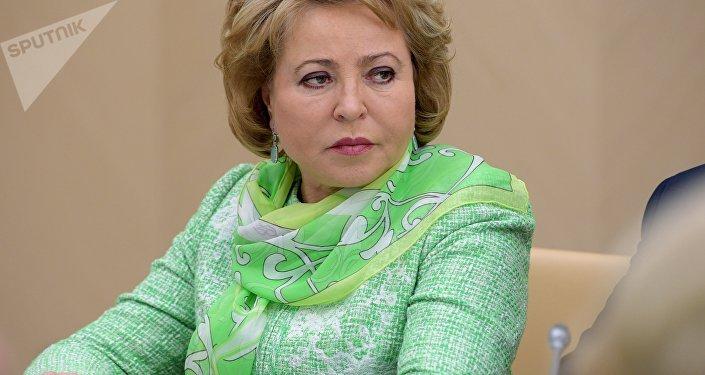 Valentina Matvienko, Présidente du Conseil de la Fédération russe