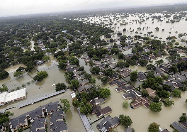 Inondation au Texas