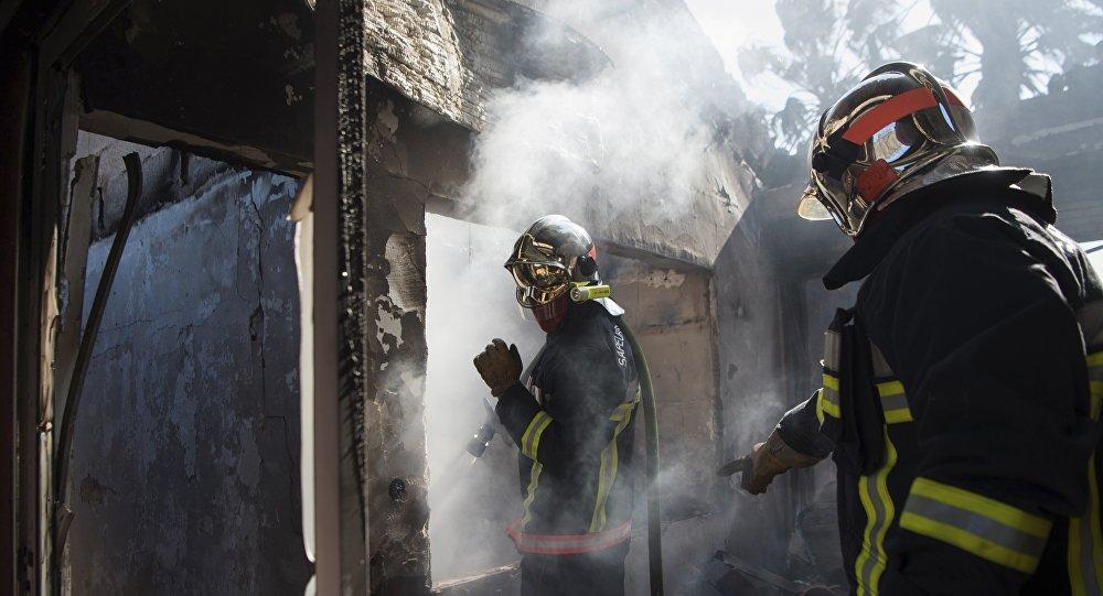 Le Var en proie à un violent incendie