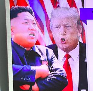 «Les mots ne fonctionneront pas»: Trump juge la Corée du Nord «dangereuse» pour les USA