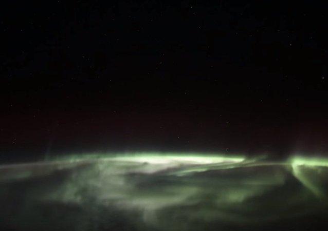 Les aurores boréales vues par les cosmonautes