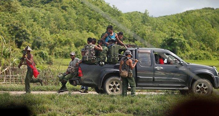 Soldats birmans
