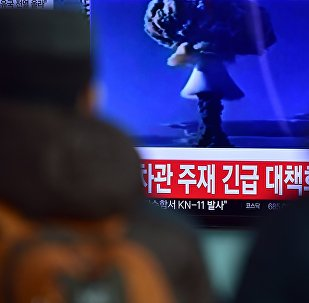 Un reportage sur un essai d'une bombe à hydrogène effectué par la Corée du Nord