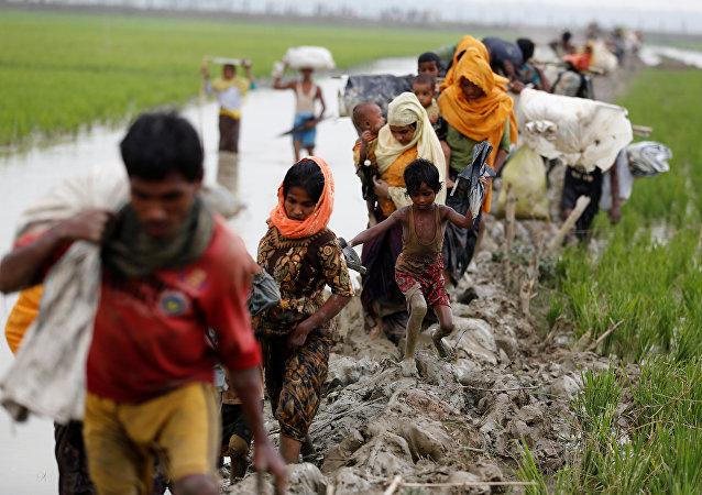 l`émigration des Rohingya en Myanmar
