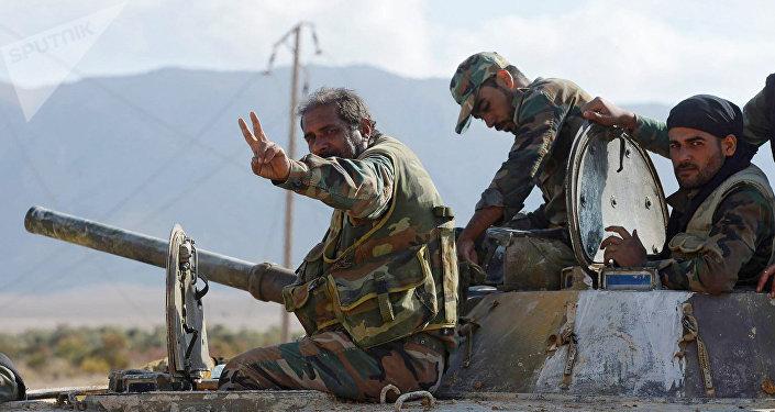 L'armée syrienne de Deir ez-Zor