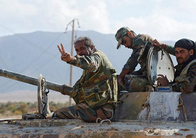 L'armée syrienne, image d'illustration