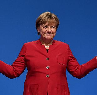 Angela Merkel. Archive photo