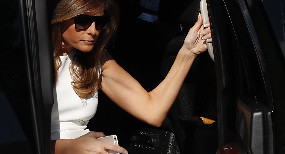 La First lady Melania Trump