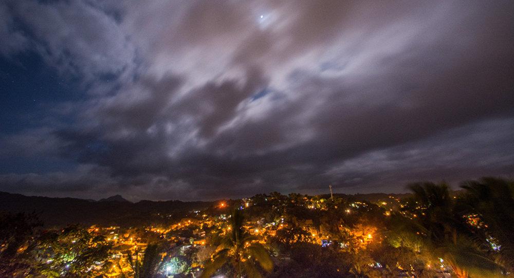 Le ciel mexicain, image d'illustration