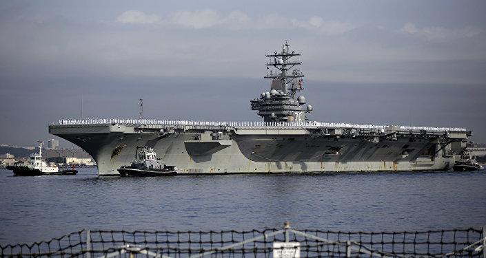 L'USS Ronald Reagan