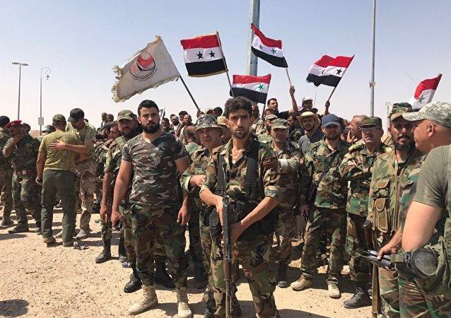 L'armée syrienne perce le siège de Daech au sud de Deir ez-Zor