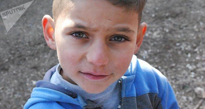 Enfants à Deir ez-Zor