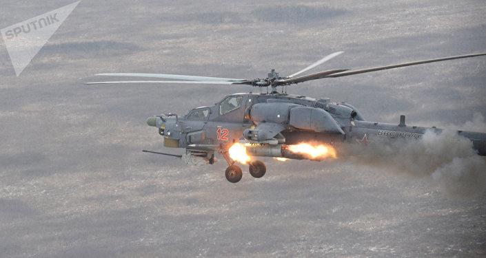Mi-28N. Archive photo