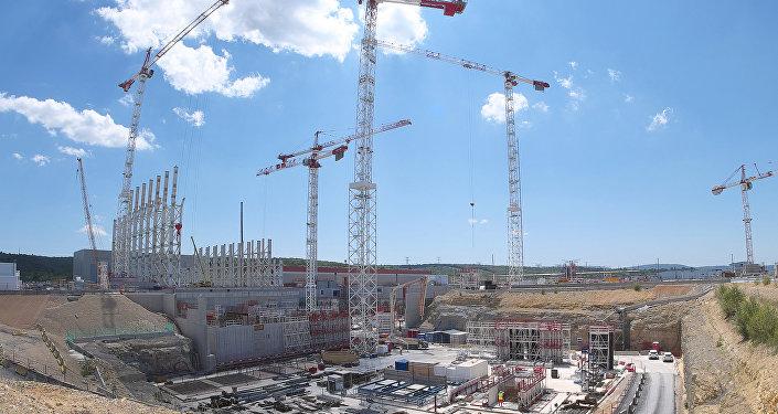 Construction du réacteur ITER