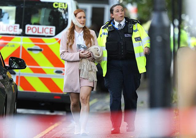 Les premiers instants après l'attaque dans le métro de Londres