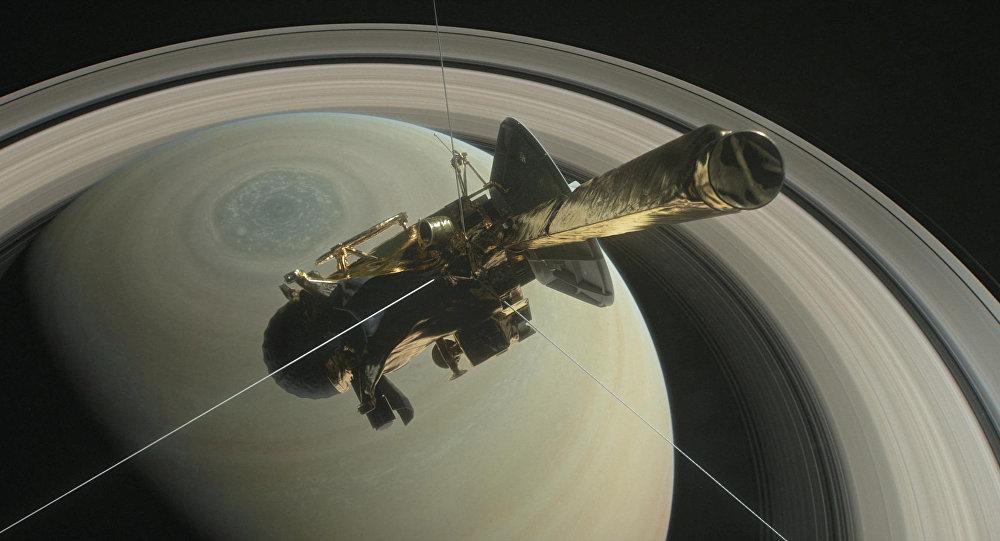 La sonde Cassini (archives)