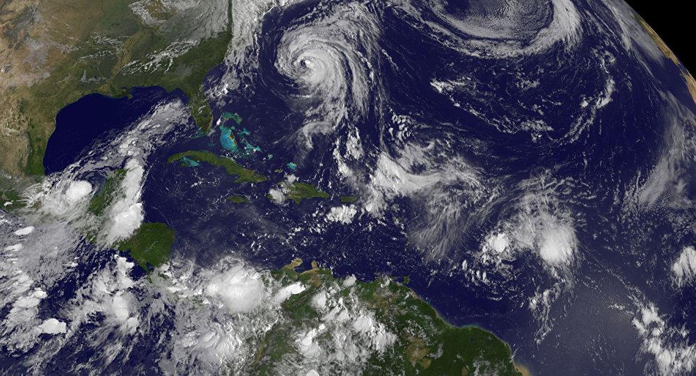 un ouragan Maria
