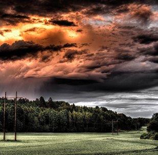 Une tempête (image d`illustration)