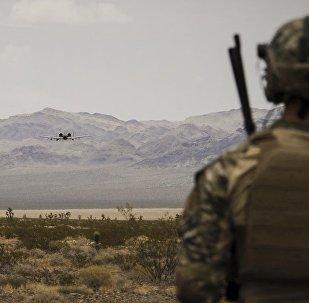 La base aérienne de Nellis, Nevada