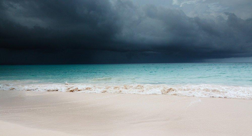 Un ouragan. Image d'illustration