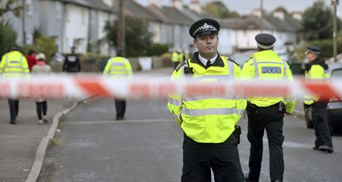 Police à Londres. Archive photo