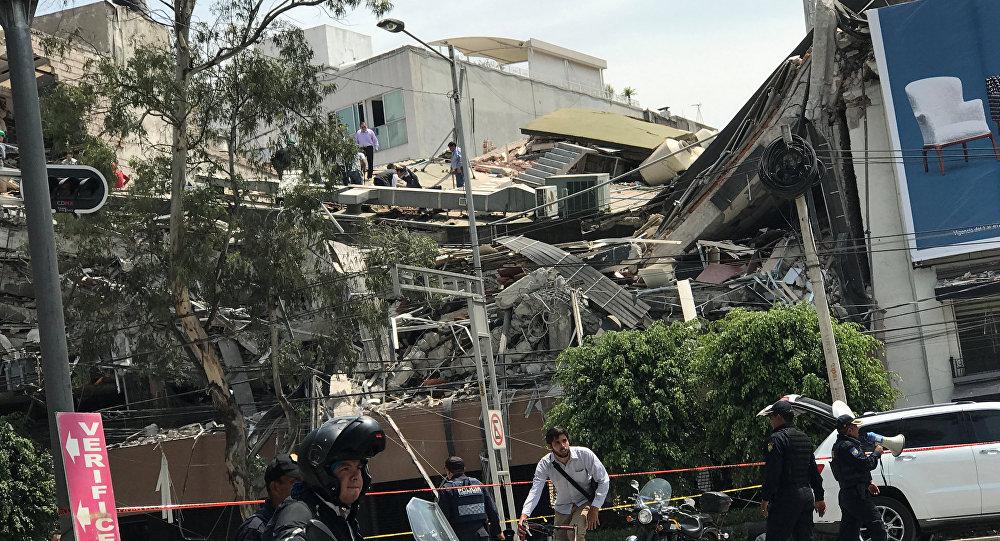 Après le séisme, Poutine offre son aide au Mexique