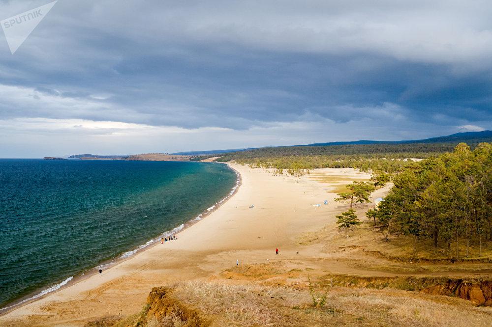 L'île d'Olkhon sur le Baïkal