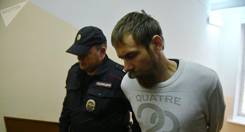 Interpellation de l'un des membres de l'organisation État orthodoxe