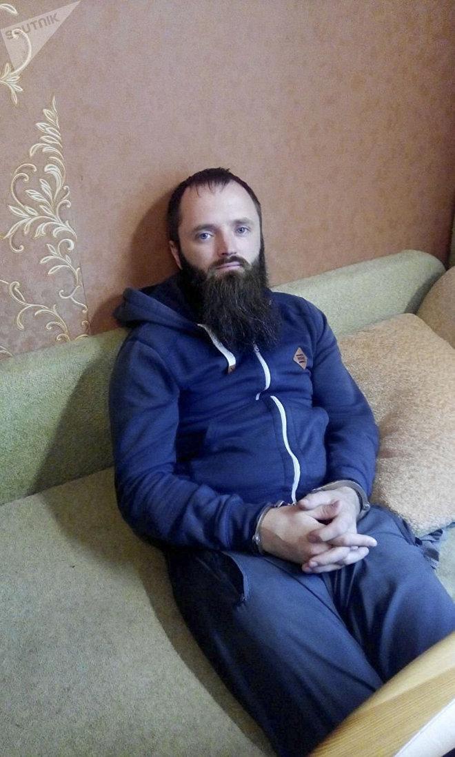 Chef de l'organisation États orthodoxe Alexandre Kalinine