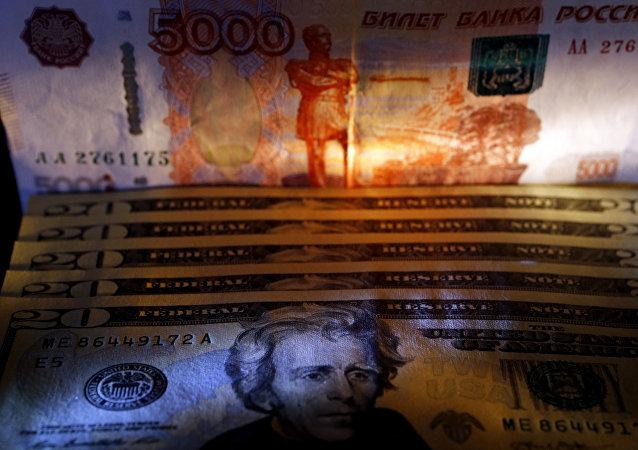 dollars et roubles