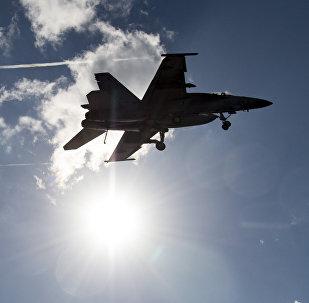 un F-18, image d'illustration