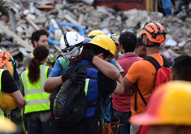Un séisme  frappe le Mexique