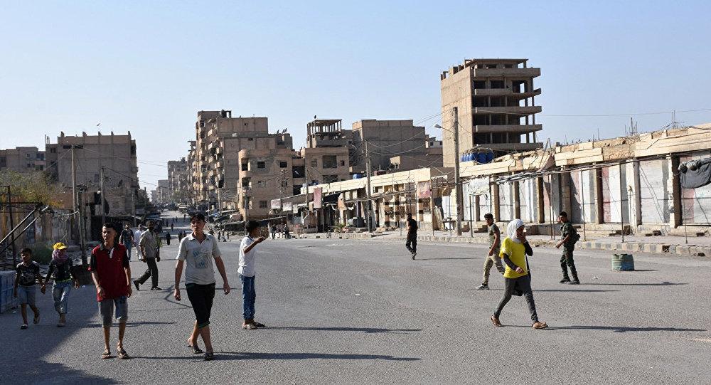 Deir ez-Zor, Syrie