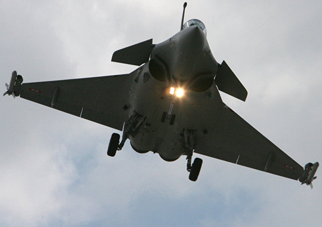 Un Eurofighter Typhoon (archives)