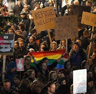 Protestations contre l'AfD, Bundestagswahl