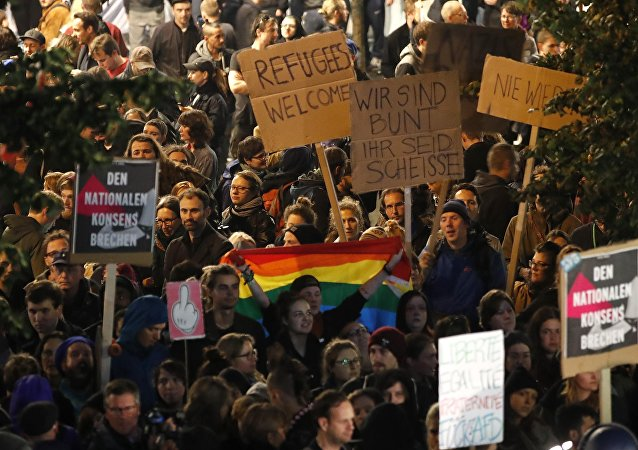 Protestations contre l'AfD, Bundestagswahl