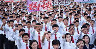 Pyongyang: meeting de soutien à la déclaration de Kim Jong-un sur les États-Unis
