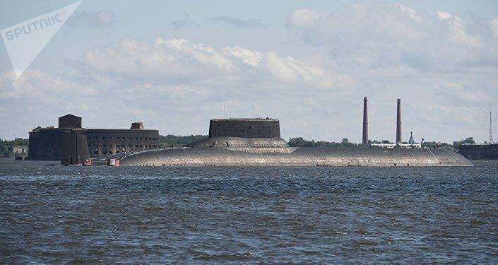 Le sous-marin TK-208 «Dimitri Donskoï»