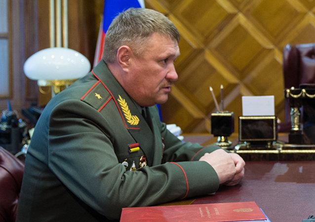 Le général de division Valeri Assapov