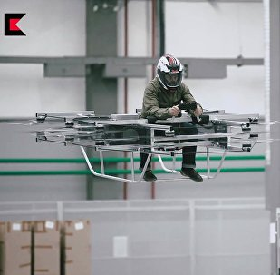 «Kalachnikov» présente son concept de «véhicule volant»