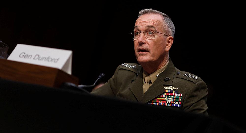 Joseph Dunford devant le Comité des forces armées du Sénat américain le 27 septembre 2017