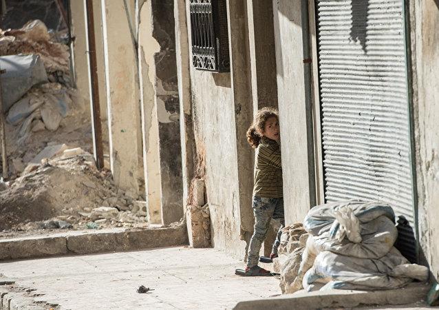 La fillette, Alep