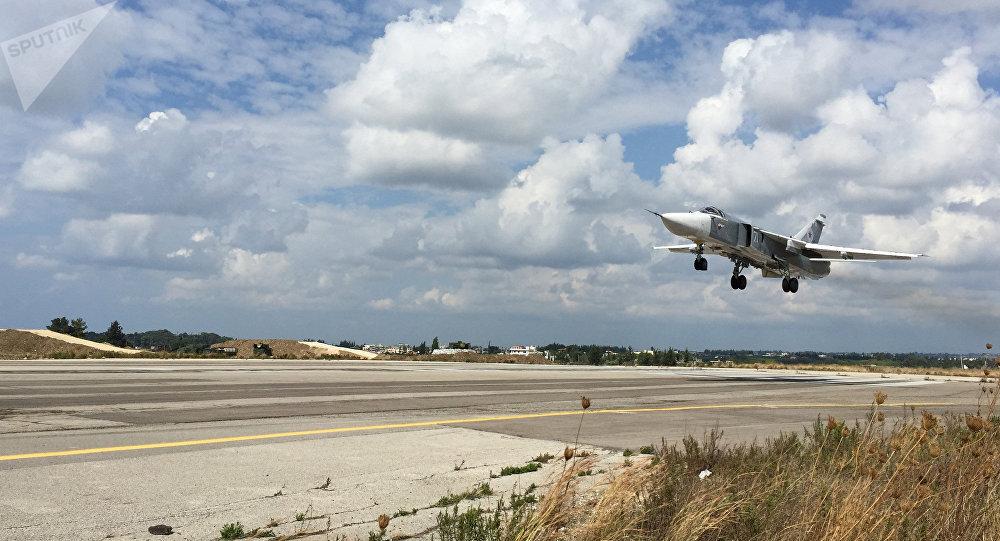 Pilotes russes à la base de Hmeimim