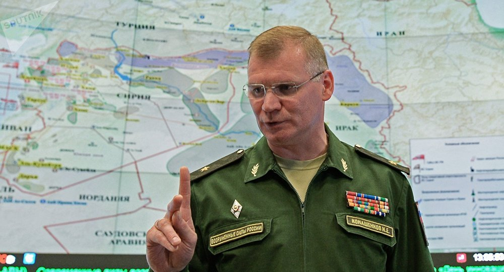 Le porte-parole du ministère russe de la Défense Igor Konachenkov