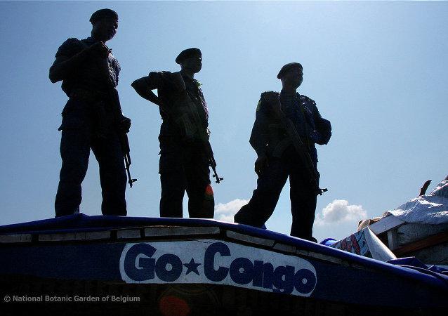 La police de la République démocratique du Congo (RDC)