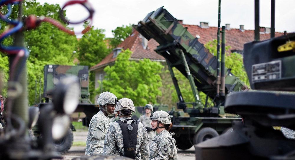 une base militaire américaine en Pologne