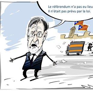 Le Premier ministre espagnol a nié la tenue du référendum sur l'autodétermination en Catalogne