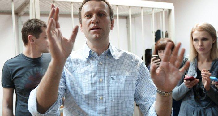 L'opposant Alexeï Navalny