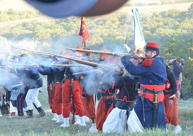 Brigade de Savoie en Сrimée