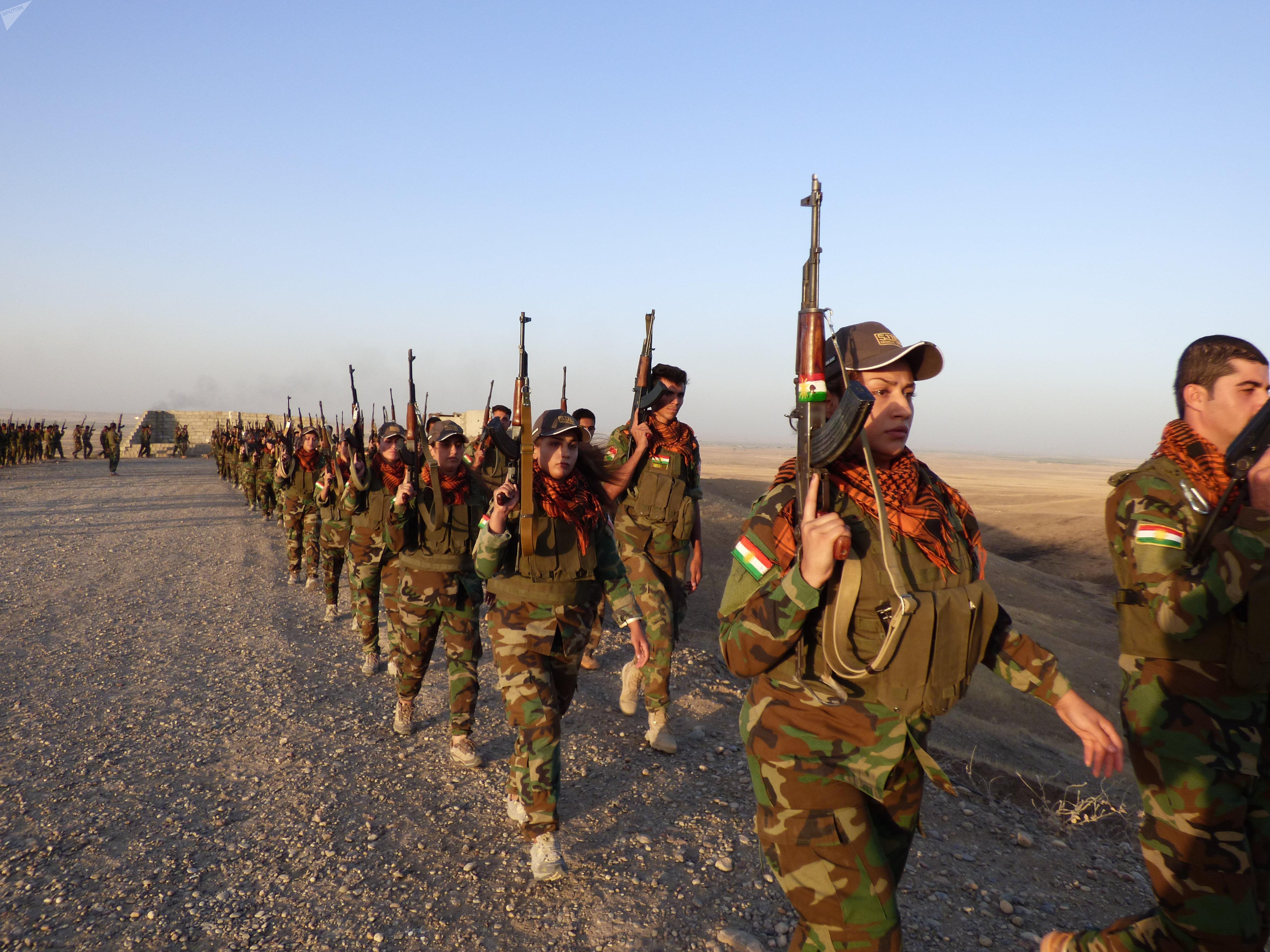 Femmes Peshmergas à Kirkouk